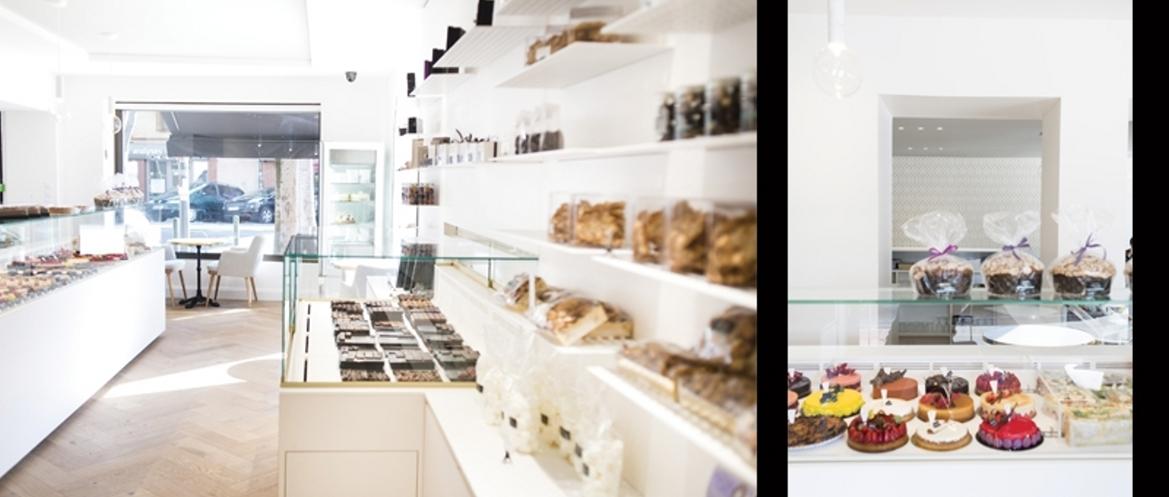 Rénovation d'une pâtisserie
