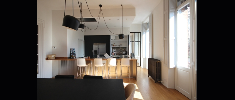 Rénovation d'un appartement à Toulouse