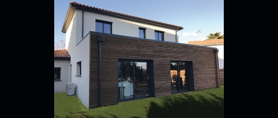 Construction d'une villa contemporaine à Blagnac - Architecte sur Toulouse