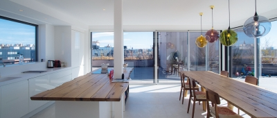 Appartement avec terrasse et extension - Architecte sur Toulouse