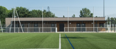 Vestiaires de foot CT - Architecte sur Toulouse
