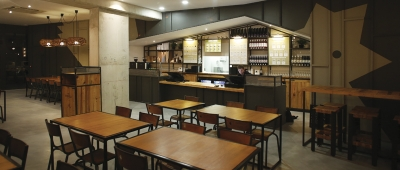 BOUQUET/GARBAY ARCHITECTES - Restaurant Monsieur Poule - Architecte sur Toulouse